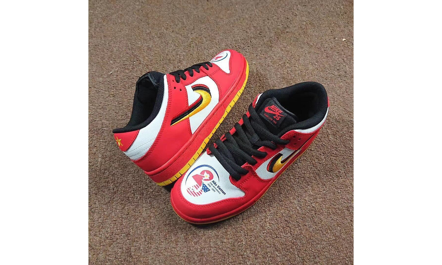 抢先预览全新 Nike SB Dunk Low「Vietnam」