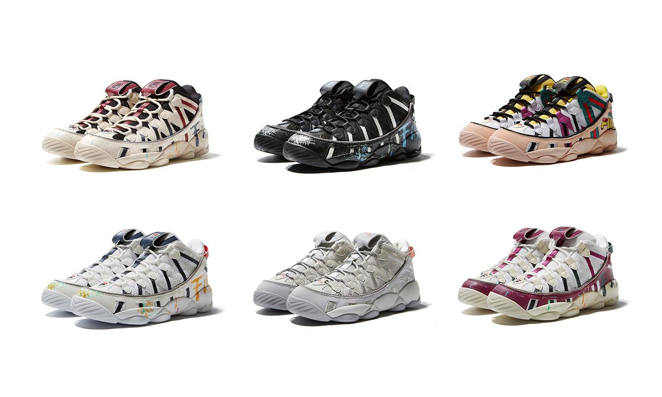 以 90 年代复古篮球鞋为蓝本,FILA FUSION 推出全新 SPAGHETTI 鞋款
