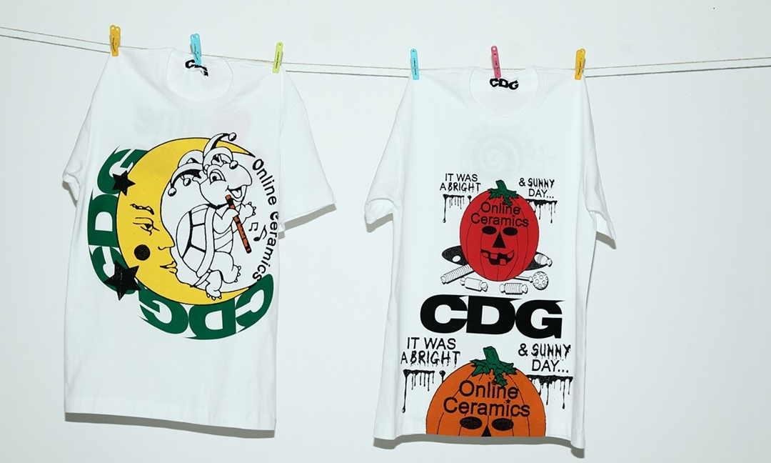 CDG x Online Ceramics 全新胶囊系列即将登场