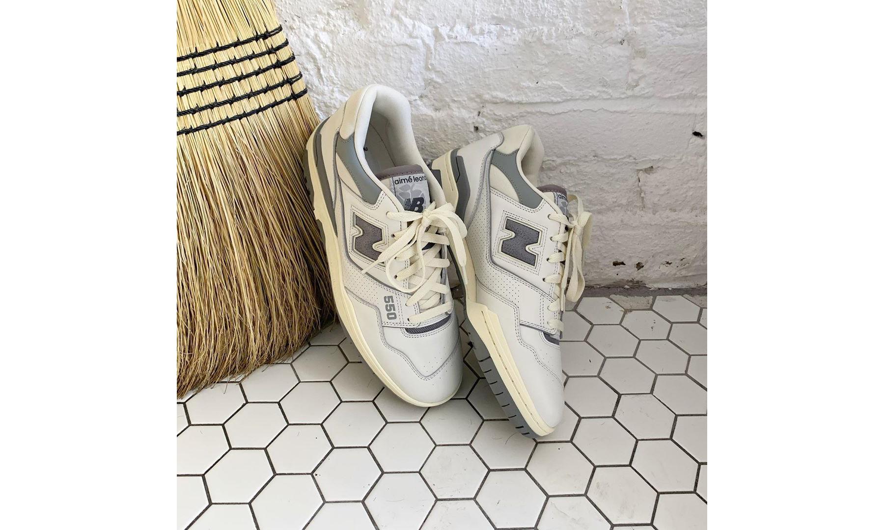 时隔 31 年回归,Aimé Leon Dore x New Balance P550 联名鞋款登场