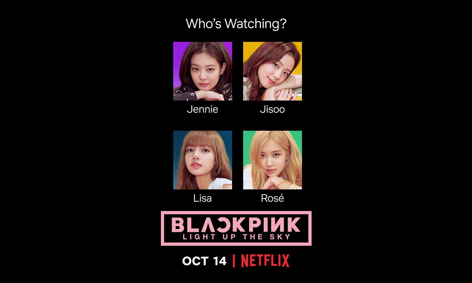 BLACKPINK 成为 Netflix 首支 K-POP 纪录片主人公