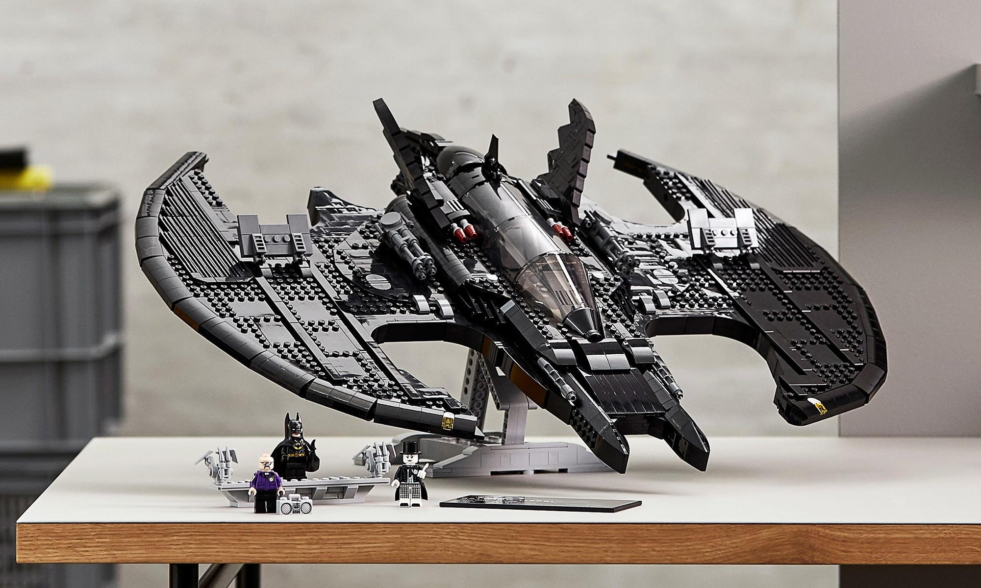 LEGO 76161《蝙蝠侠 1989》蝙蝠战机套组释出