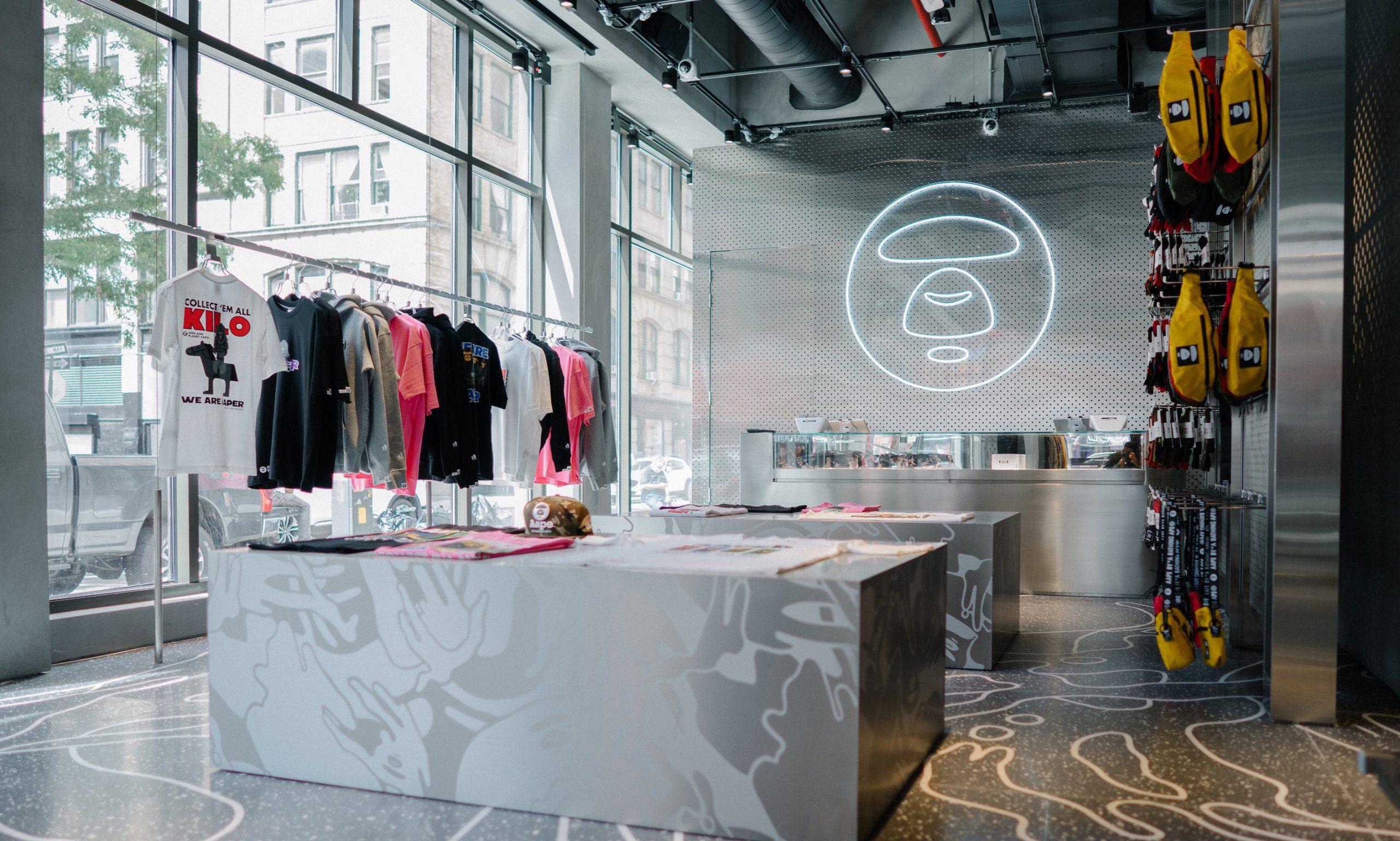 AAPE BY A BATHING APE® 于纽约开设全新专门店