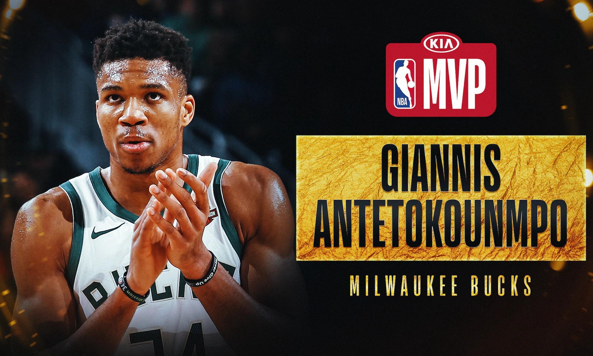 字母哥当选 NBA 2019-20 赛季常规赛 MVP
