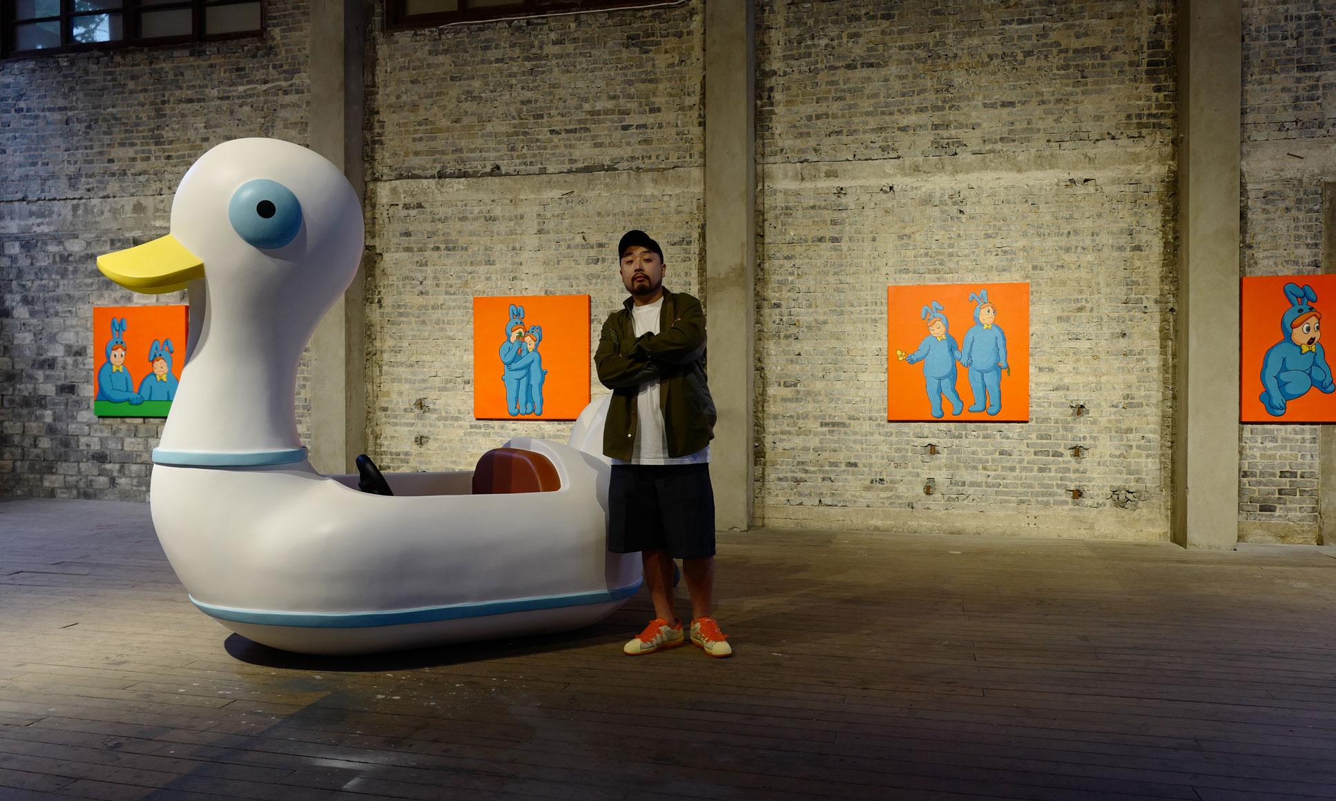 艺术家张权个人展览「郊游」正式开幕