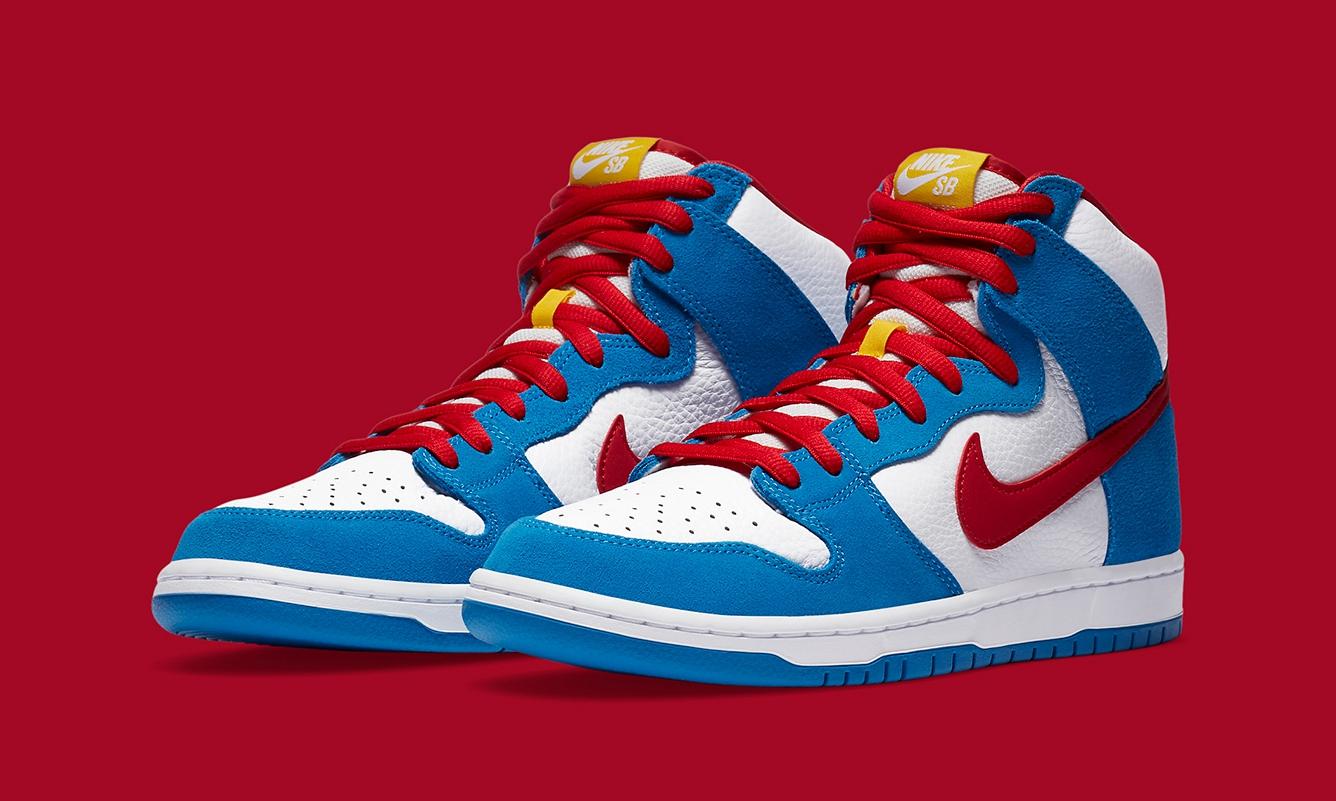 Nike SB Dunk High「Doraemon」发售日期确定