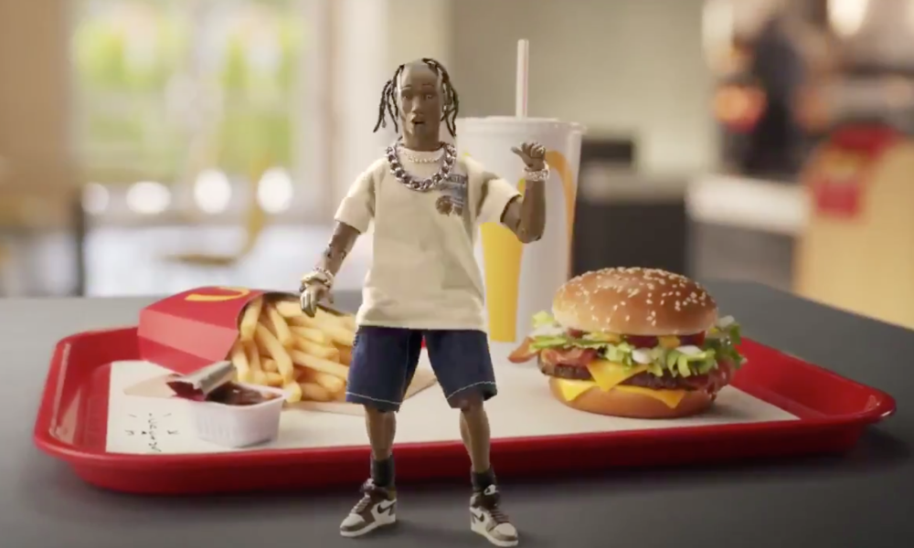 McDonald's x Travis Scott 合作企划「Travis Scott Meal」正式开售