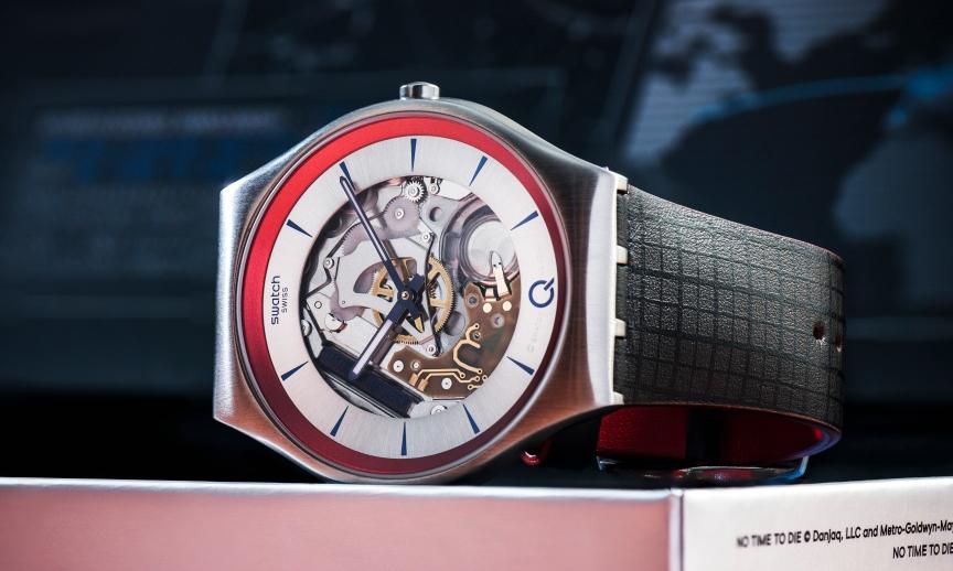 SWATCH 隆重推出《007》主题 ²Q 限量腕表