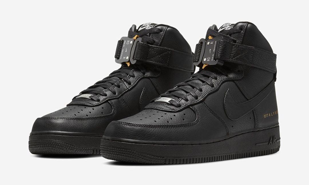发售价 400 美元,1017 ALYX 9SM x Nike Air Force 1 官方预览释出