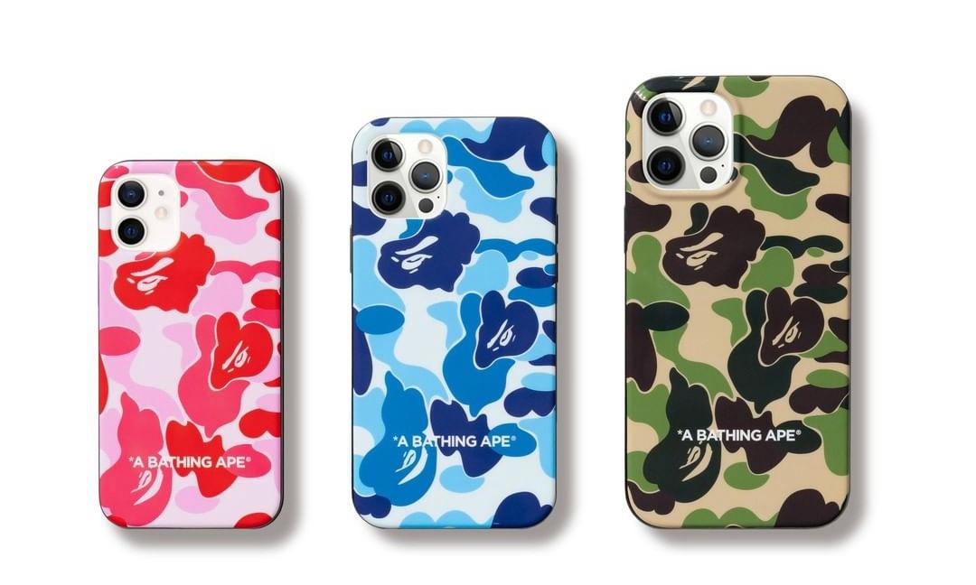 「神同步」,A BATHING APE® 推出 iPhone 12 系列手机壳周边