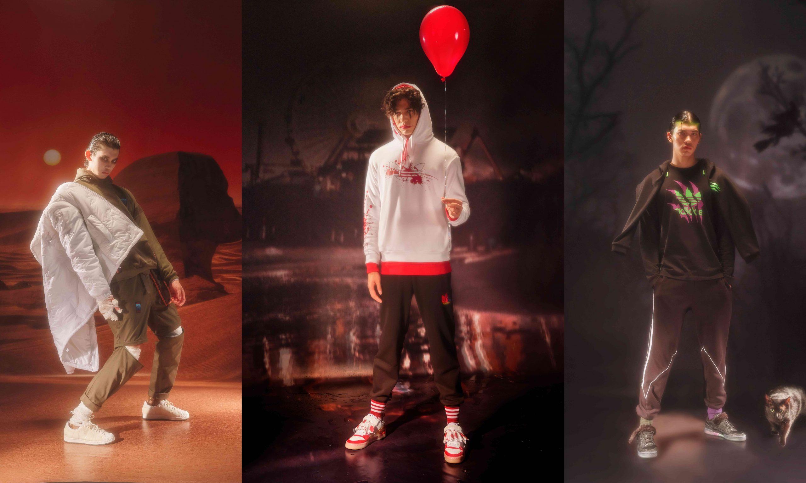 adidas Originals 万圣节限定「恐怖」来袭