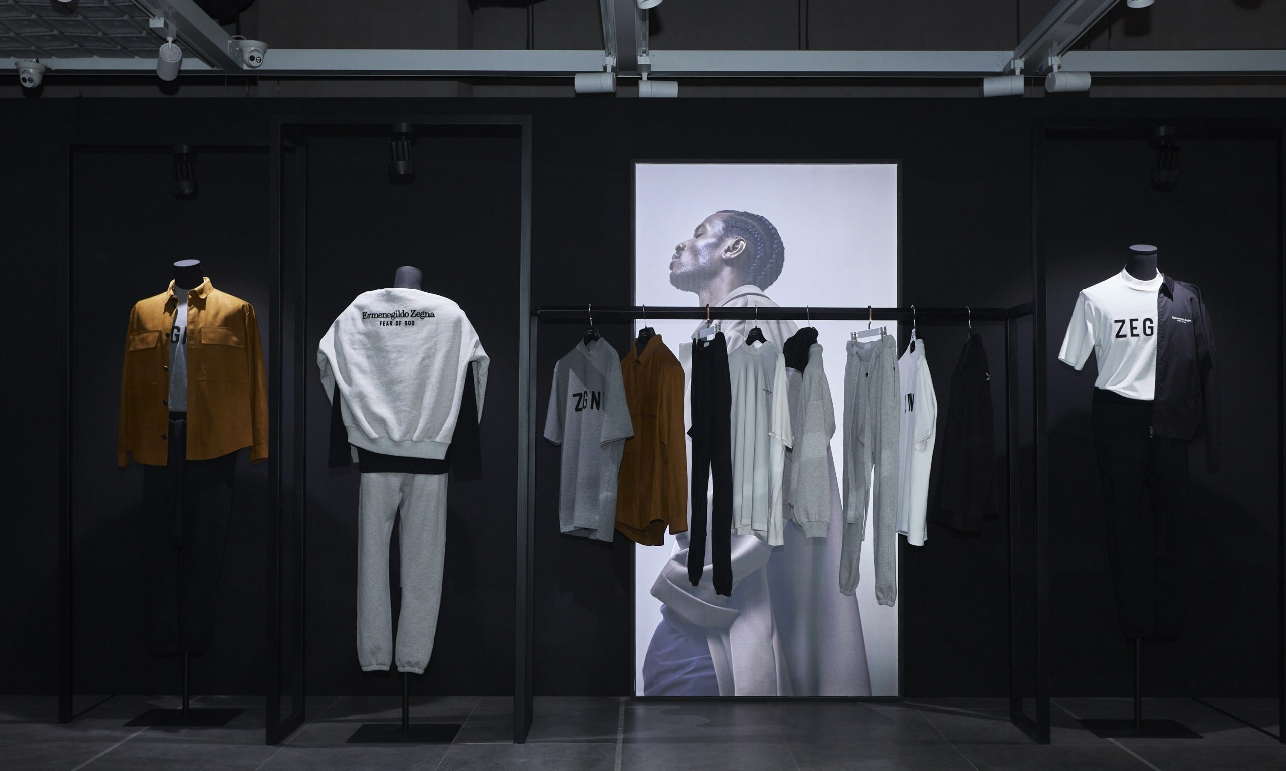 INNERSECT 于 TX 淮海旗舰店正式发售 ZEGNA x FEAR OF GOD 限量联名系列