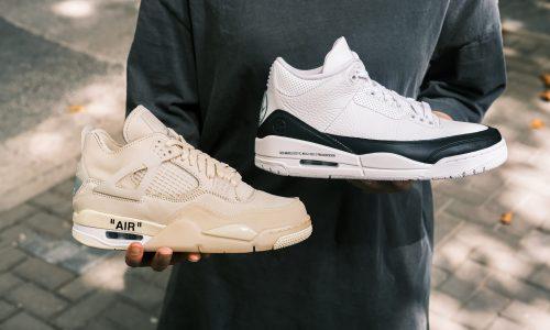 藤原浩、Virgil 分别合作的 Air Jordan 球鞋,你会选哪双?