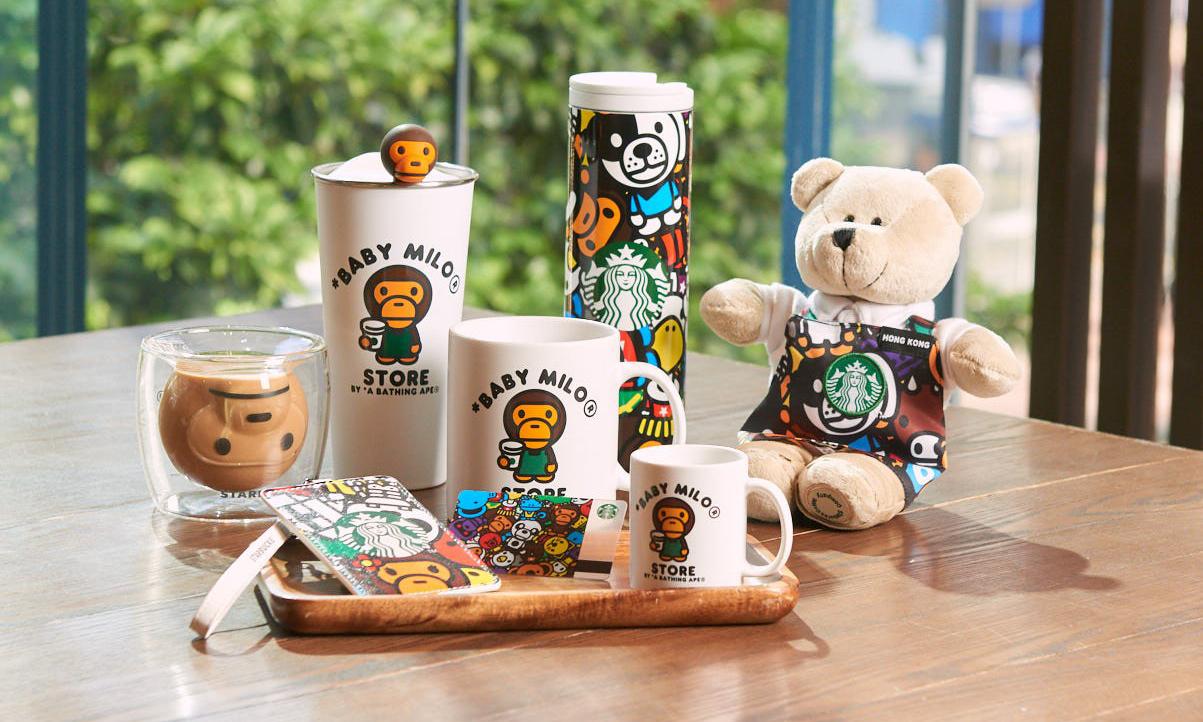 星巴克首度携手 BABY MILO® STORE 推出中国香港限量商品系列