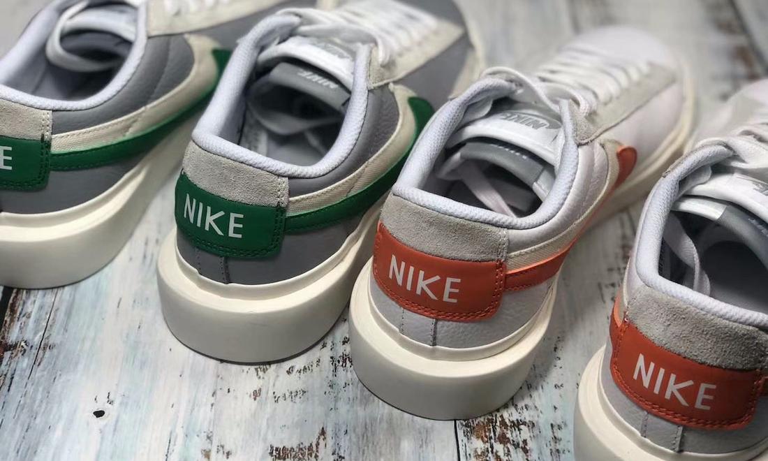 sacai x Nike Blazer Low 实物近赏释出