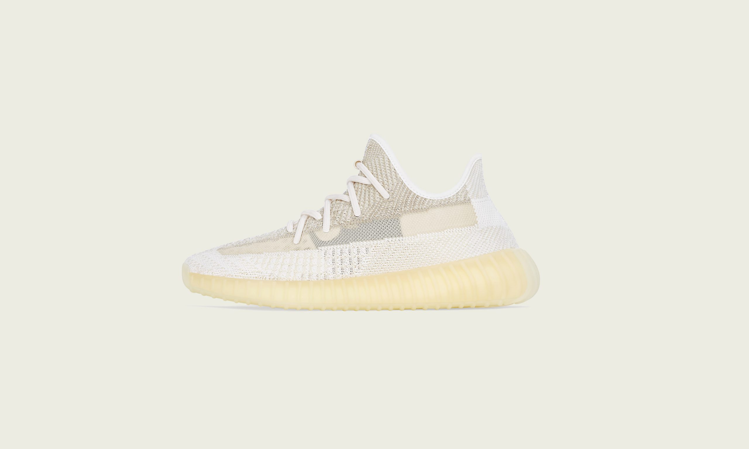 adidas Originals 推出 YEEZY BOOST 350 V2 NATURAL 鞋款