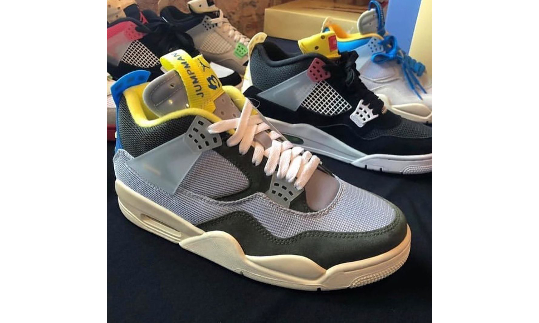 Union x Air Jordan IV 更多 Sample 配色曝光