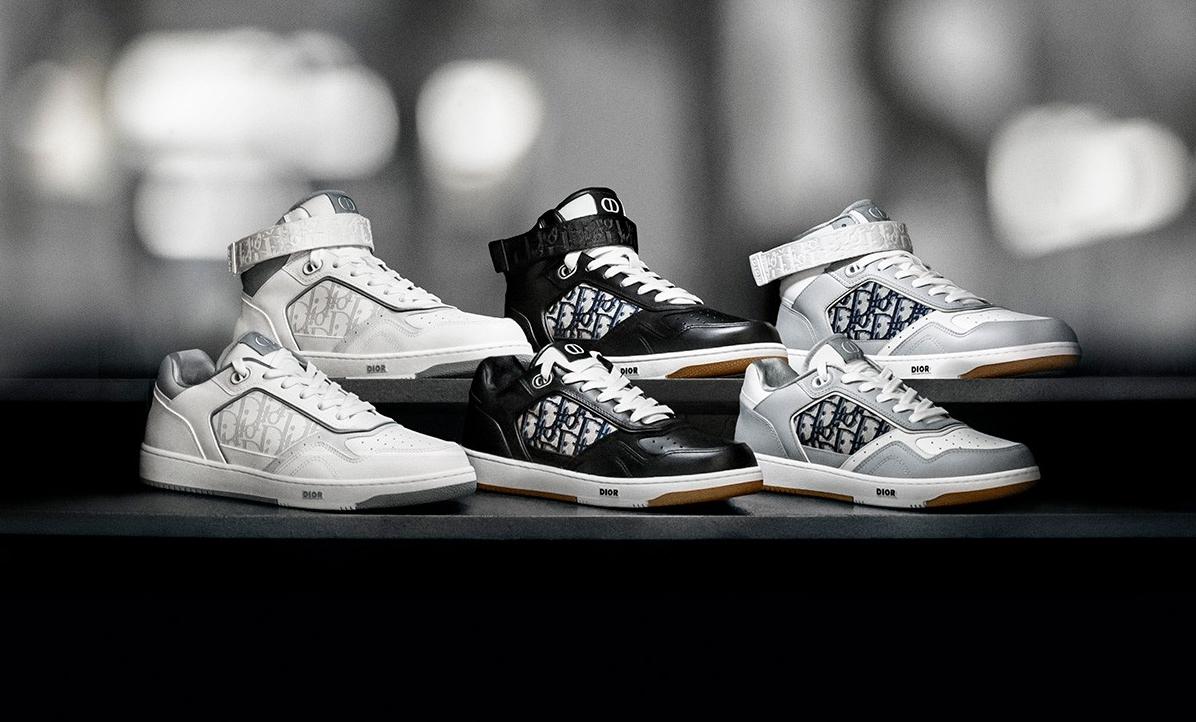 奢华工艺,DIOR 推出全新 B27 运动鞋