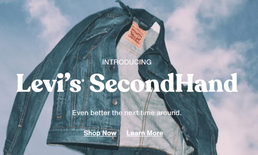 「Levi's SecondHand」二手贩售平台正式上线