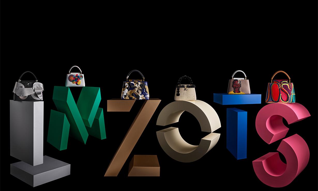 由 6 位艺术家重塑,Louis Vuitton 释出「ArtyCapucines」限量手袋