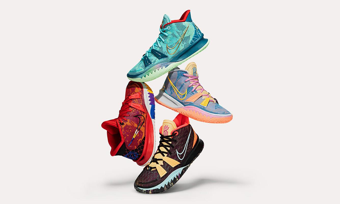 Nike Kyrie 7 首发配色将以「盲盒」方式发售