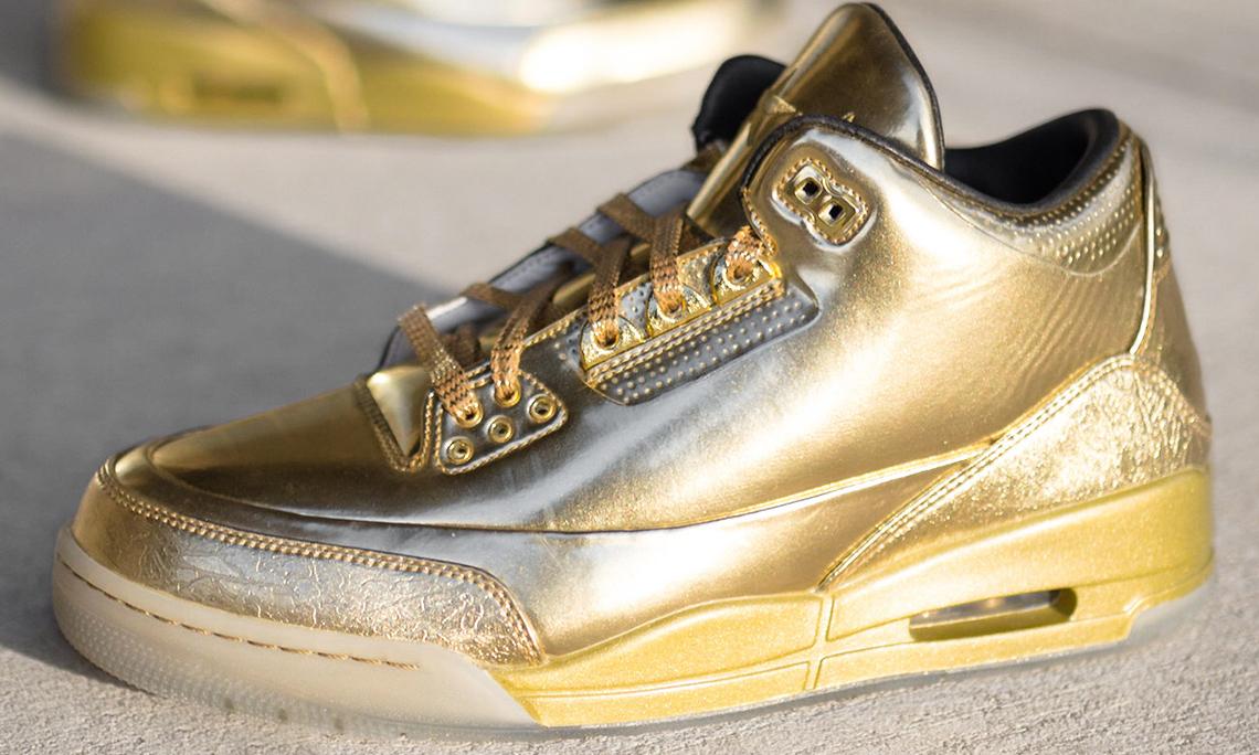 细节近赏全球限量 10 双的 Usher x Air Jordan III PE