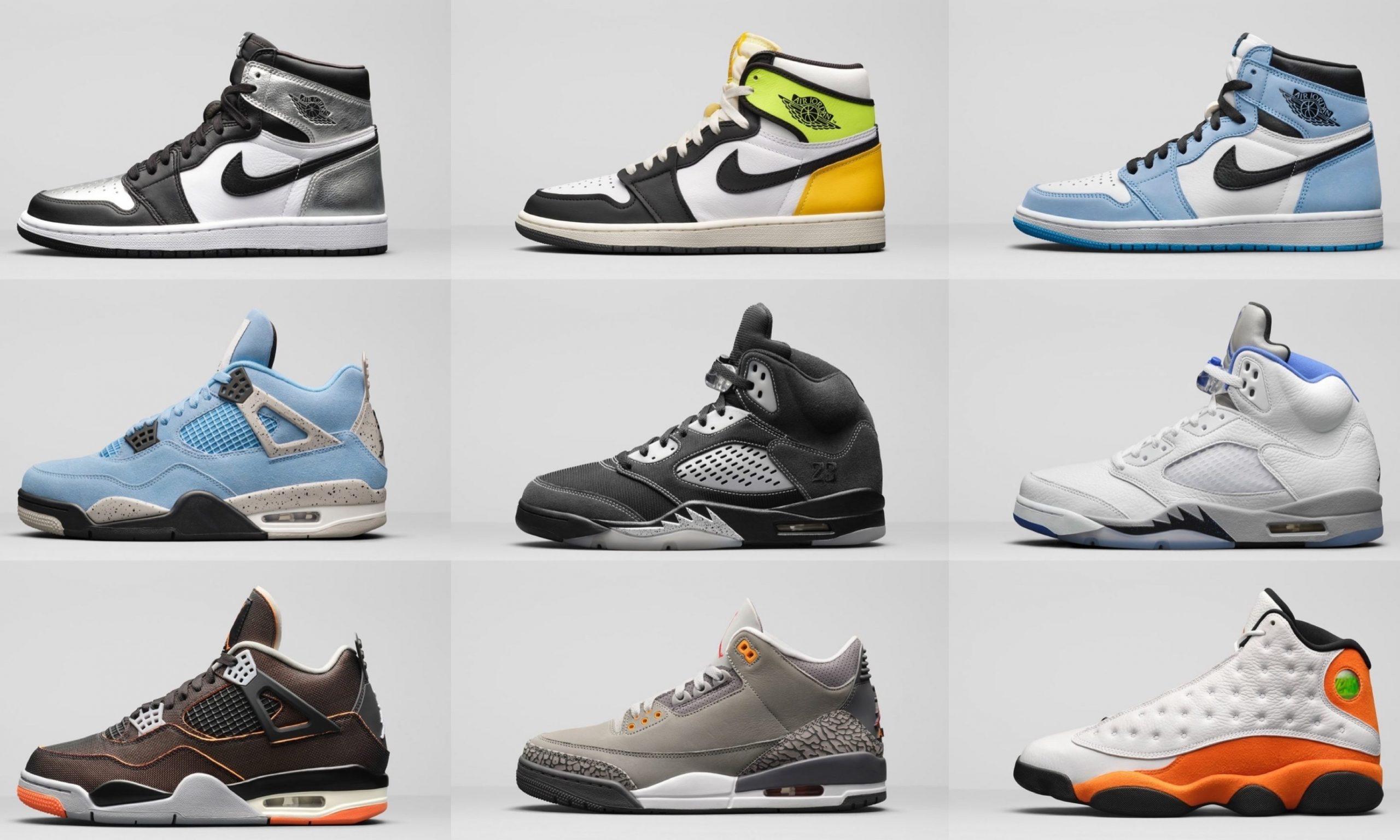 Jordan Brand 2021 春季发售计划公布