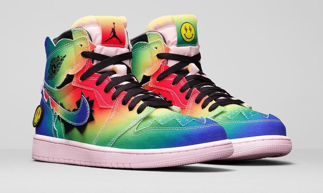 超高辨识度,J Balvin x Air Jordan I「Colores Y Vibras」即将登场