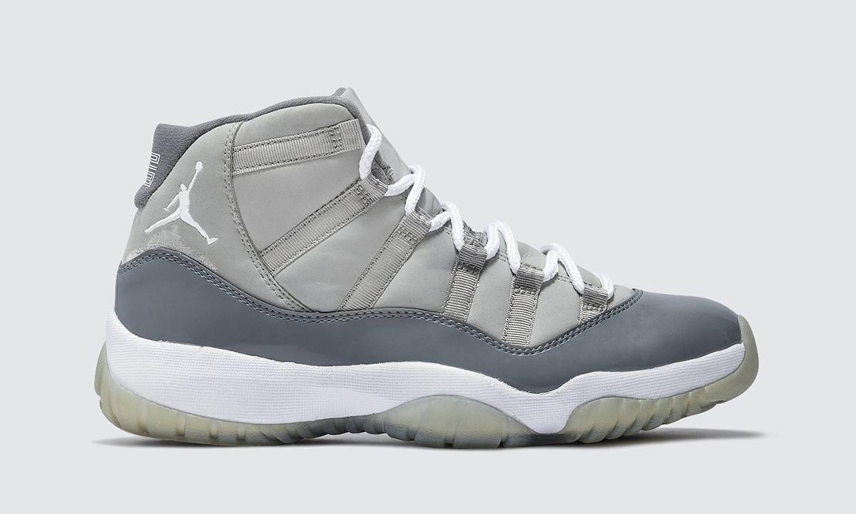 Air Jordan XI「Cool Grey」或将于 2021 年复刻
