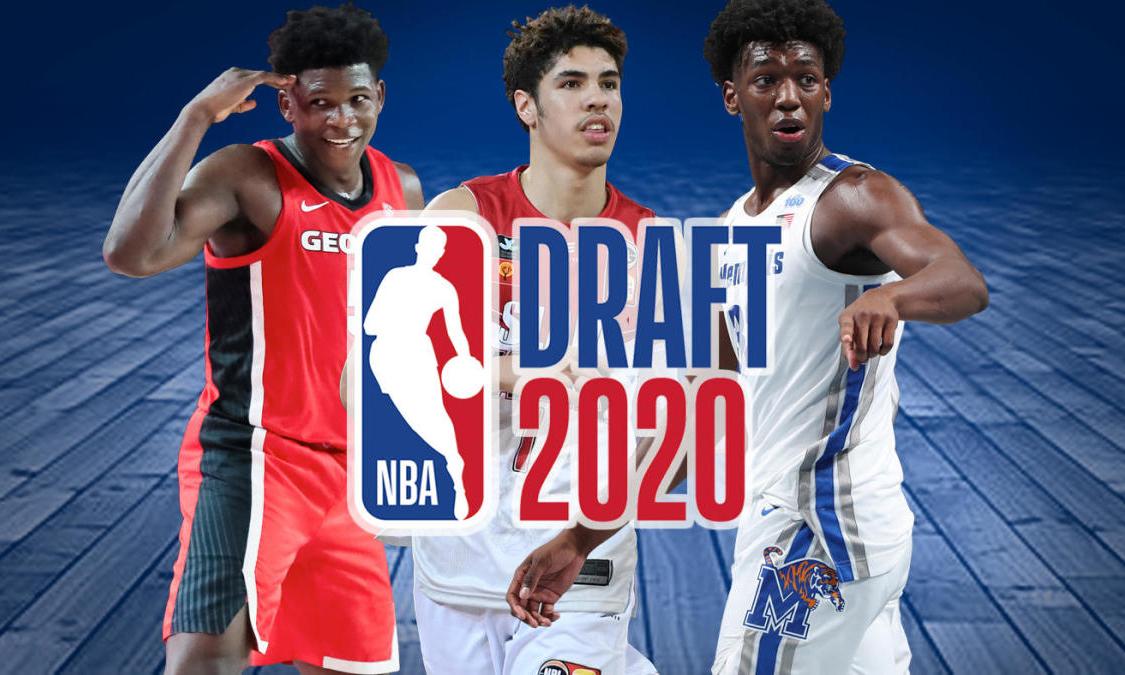 爱德华兹当选状元,2020 NBA 选秀结果出炉