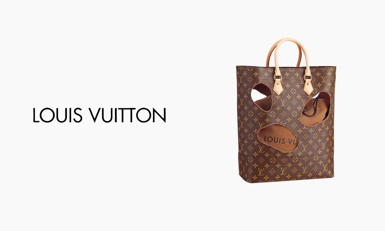 大涨三倍,6 年前的 COMME des GARÇONS x LOUIS VUITTON 联乘款成升值最快包袋