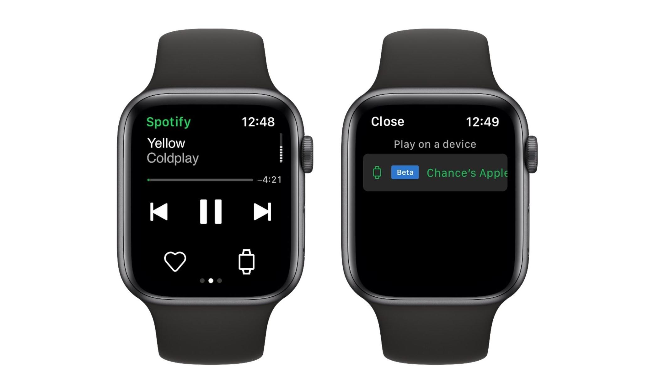 无需 iPhone,Spotify 可直接在 Apple Watch 播放