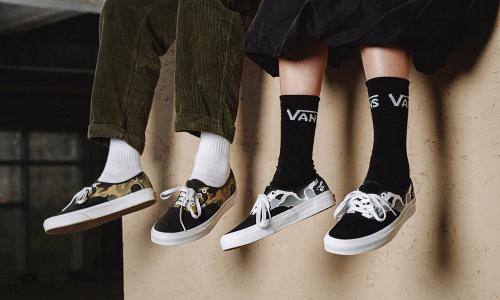 Vans Customs 自由定制平台登陆天猫旗舰店,带来 BAPE® Camo 定制选项