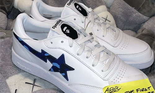 A BATHING APE® x Reebok Club C 联名鞋款提前释出