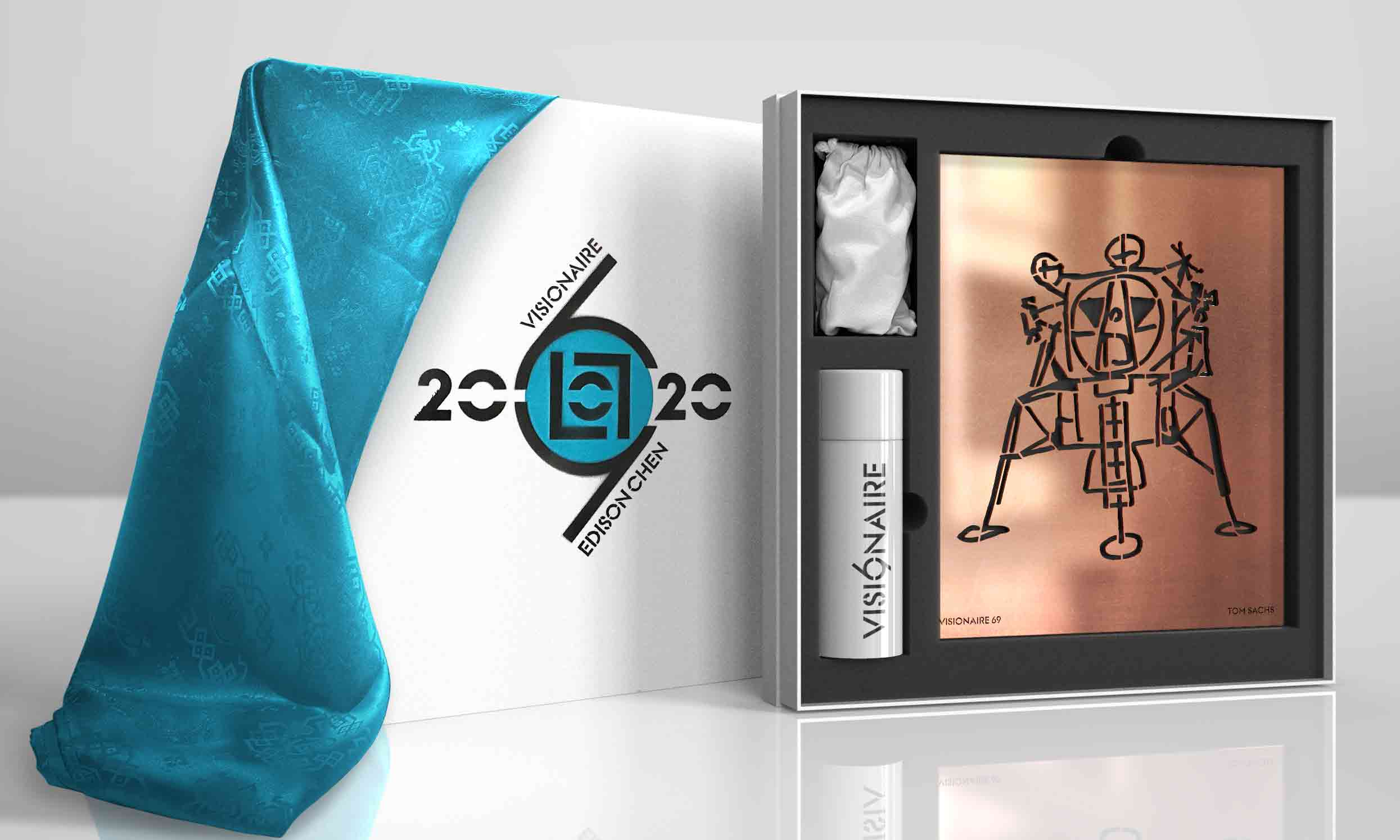 特邀陈冠希为 VISIONAIRE 首位中国客座策展人,第 69 期 《2020》向模板喷绘致敬
