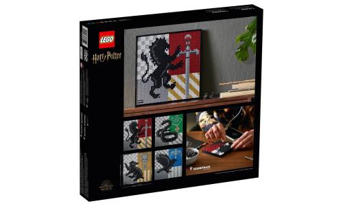 又得全套入!LEGO 31201《哈利波特》学院徽章系列释出