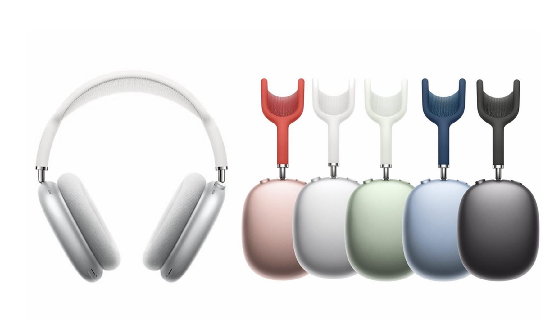苹果首款头戴式耳机 AirPods Max 正式开启预定
