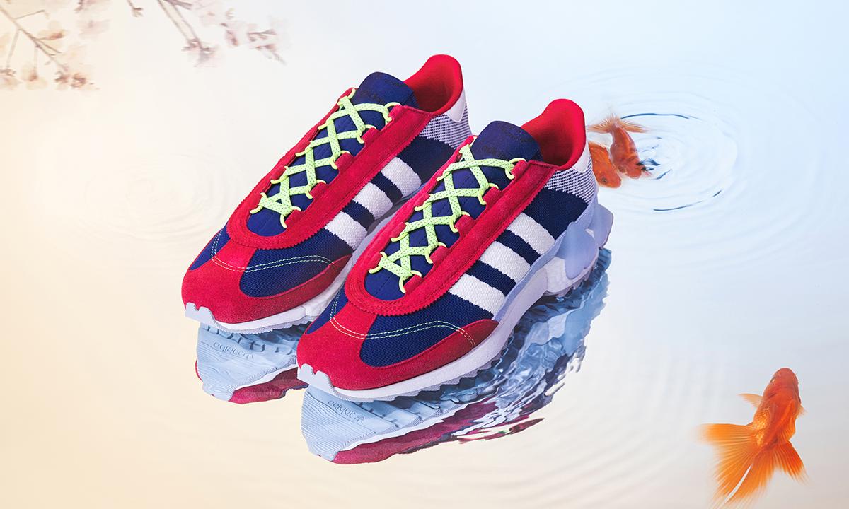 刺绣春园里,adidas Originals x Angel Chen 新款联名系列上市
