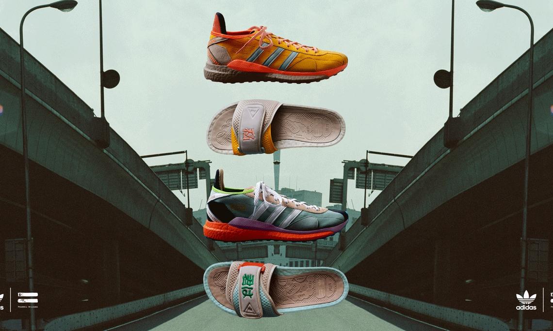 Pharrell Williams x NIGO® x adidas 三方合作系列正式登场