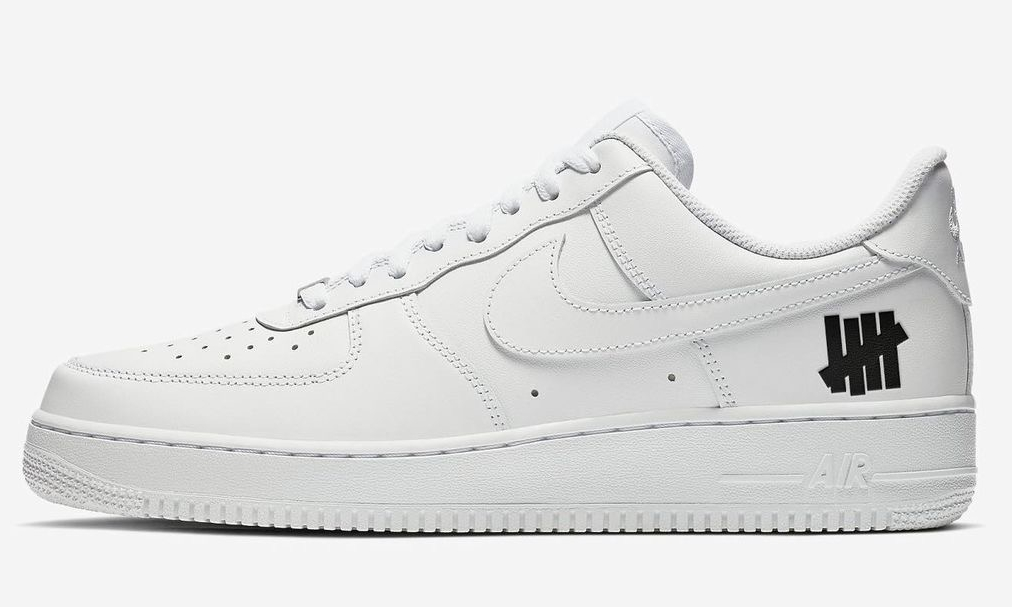 UNDEFEATED x Nike Air Force 1 新款联名将于 2021 登场