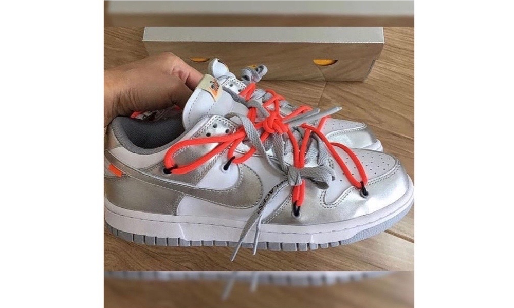 全新配色,Off-White™ x Nike SB Dunk Low 实物图曝光