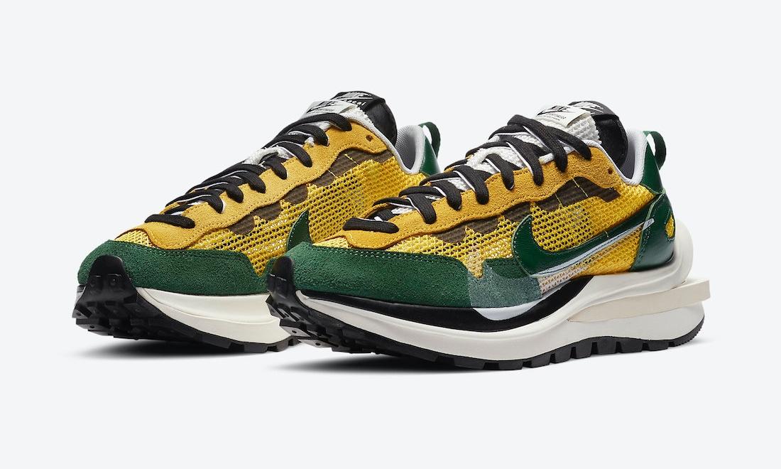 sacai x Nike VaporWaffle「Tour Yellow」发售日期确定
