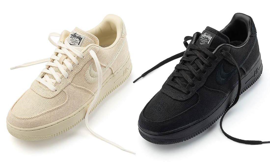 Stüssy x Nike Air Force 1 将于本周登陆官网发售