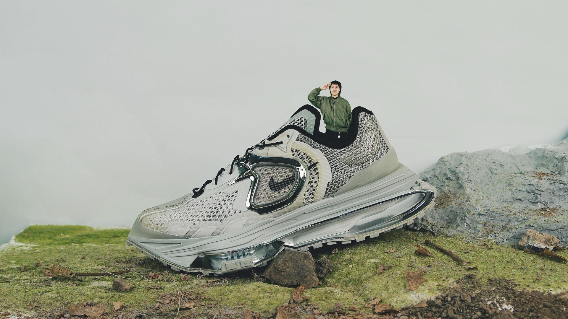 今日新发,开箱「坦克尺寸」的 Nike Zoom MMW 4…