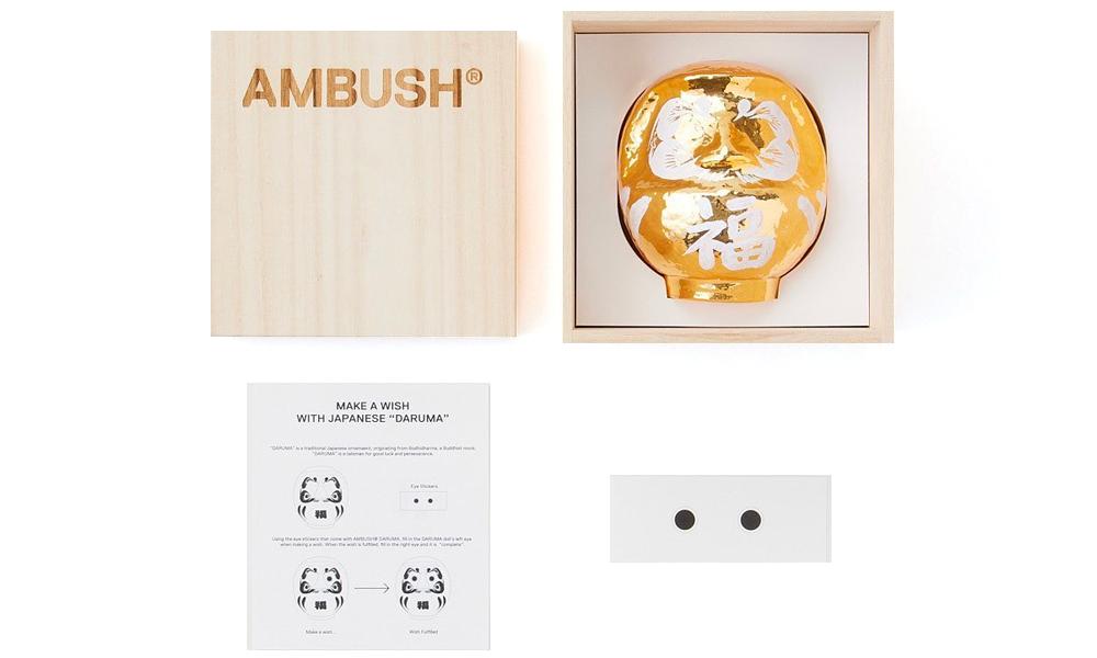 庆祝新年,AMBUSH 打造「达摩娃娃」雕塑