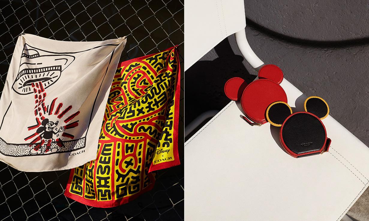 携手 Keith Haring 与 Mickey Mouse,Coach 推出全新三方联乘系列