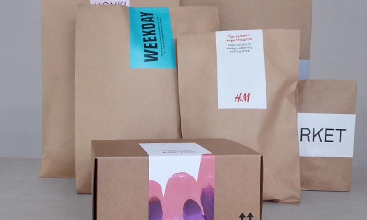 用纸质材料替换塑料包装,H&M 推进环保新规