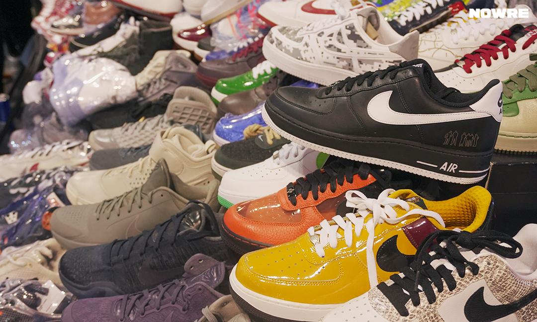 价值百万的 Sneaker Con 展位里,都有什么鞋?