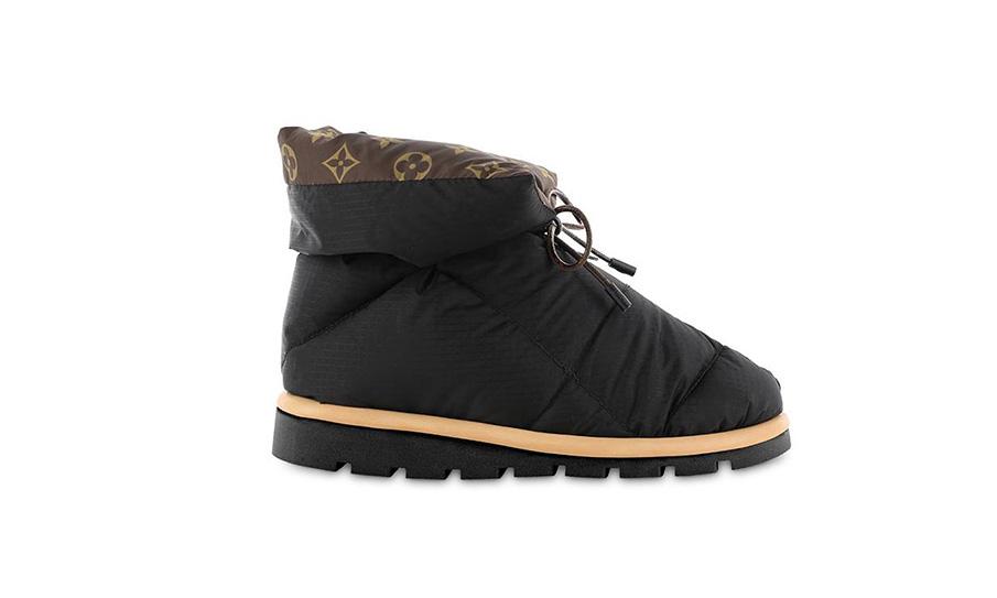 下个爆款?LOUIS VUITTON 推出独特设计「枕头靴」