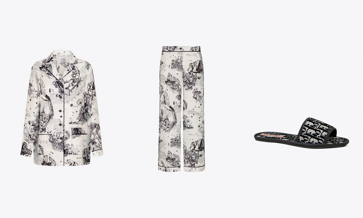 DIOR 推出品牌首个居家服系列